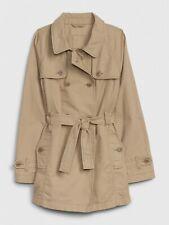 Gap Kids Khaki Belted Trench Jacket sz L 10 NWT RV$70