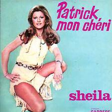 CD single SHEILAPatrick mon cheri 2-TRACK CARD SLEEVE