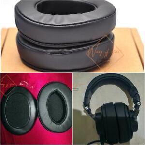 Thick Foam Ear Pads Cushion For Audio-Technica ATH-M50x Headphones