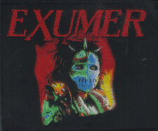 EXUMER-POSSESSED BY FIRE- WOVEN PATCH-THRASH METAL-super rare