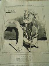Caricature 1876 - Galerie Charivarique Charles Blanc
