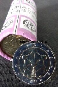RARE DISPO 2 euro BELGIQUE 2006 Commémo Atomium. NEUVE. Envoi en suivi.