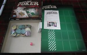 SUPERB PARKER BROTHERS HEAD TO HEAD POKER 6 DIFFERENT GAMES CONTENTS MIB