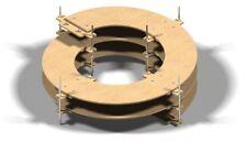 BINARIO elicoidale scala N, scala Z 2-Gleisig,8mm Spessore,2,5 rotazioni