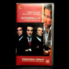 Goodfellas - Widescreen Format - VHS Video - 18 Certificate