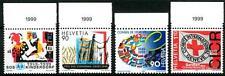 SWITZERLAND - SVIZZERA - 1999 - Anniversari diversi
