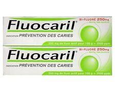 2x Pasta De Dientes FLUOCARIL con Flúor 250 ml ANTICARIES BI-FLUORE