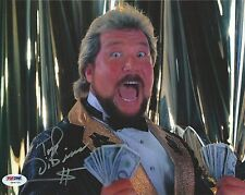 The Million Dollar Man Ted DiBiase Signed WWE 8x10 Photo PSA/DNA COA Autograph 1