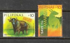Philippine Stamps 2013 'Save the Tamaraw' Paintings Complete Set MNH