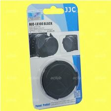 JJC Auto Lens Cap Black for Panasonic LUMIX DMC-LX100 / Replace DMW-LFAC1