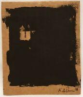 No.102 Original Abstract Minimalist Recycled Painting by K.A.DavisArt