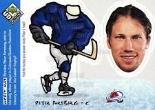 1998-99 UD Choice Bobbing Head #14 Peter Forsberg