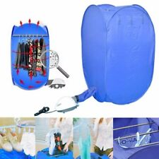 Portable 800W Electric Air Clothes Dryer Folding Fast Drying Machine Bag Dryers