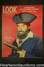 Look Oct 31, 1944 Bob Hope, Gypsy Rose Lee, Gene Krupa, Virginia Mayo - High Gra
