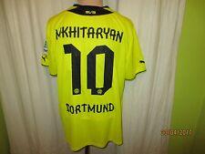 "Borussia dortmund puma hogar camiseta 2013/14 ""cátodos"" + nº 10 mkhitaryan talla L-XL"