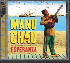 CD ALBUM 17 TITRES--MANU CHAO--ESPERANZA--2001