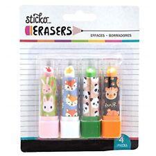 Shopkins Rossetto Eraser Scuola FERMO GOMMA GOMME per Cancellare Bambini Compleanno Regalo UK