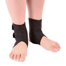 1Pair Self-heating Tourmaline Far Infrared Magnetic Therapy Ankle Easy to Use UK