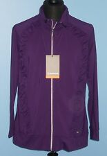 SUNICE GOLF S72500 IVORY WOMENS LIGHTWEIGHT STRETCH JACKET  :2XL~16/18 DEEP PLUM