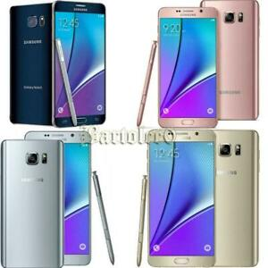 Samsung Galaxy Note 5 N920 32GB 64GB T-Mobile AT&T Verizon Sprint GSM Unlocked