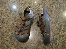 KEEN Newport H2 Youth 2 Sandals Athletic Brown Boys Girls Canvas  hiking