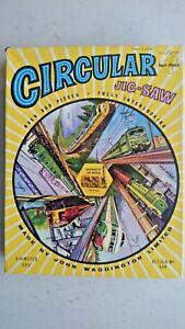 Vintage Railways of the World 500 Piece Circular  Jigsaw by Waddingtons