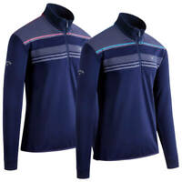 Callaway Digital Print Chillout 1/4 Zip Thermal Golf Sweater / New for 2020