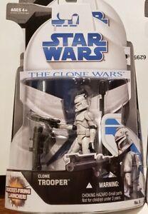 "Star Wars - Clone Wars (No. 5): Clone Trooper 3.75"" Figure"
