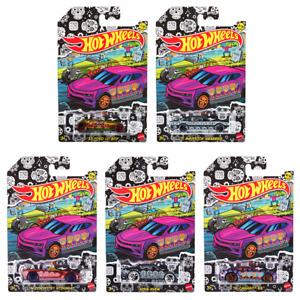 5 Car Set * 2021 Hot Wheels HALLOWEEN Dia De Los Muertos