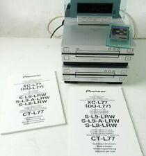 Pioneer XC-L77 CD Receiver und CT-L77 Tapedeck mit Fernbedienung Hi-1608