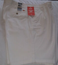 Dockers Pacific The Perfect Short Classic Fit Pleated Front-White-Sz.30-NWT