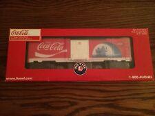 Lionel 39361 Coca-Cola Polar Bear Boxcar New in Box!