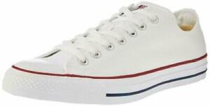 Converse M7652 All Star Chuck Taylor Low Top Casual Shoes White