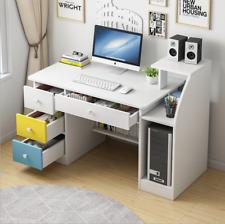 Writing Desk Computer Study Laptop Table Workstation W/Bookshelf Home Office New