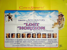 LOST HORIZON 1973 Peter Finch, Liv Ullmann, John Gielgud, Sally Kellerman QUAD