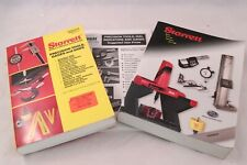 Lot 3 Starrett Precision Tools Gages Saws Catalog Modern 1992 2002 2003 Price