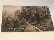 EARLY POSTCARD doncaster hexthorpe FLATTS PARK VALENTINES SERIES CARDS