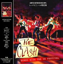 The Clash - Bored With The Us Festival Limited Clear Colour Vinyl Record INSTOCK