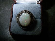 ORIGINAL THEODOR FAHRNER -Edel-Opal-Ring um 1930 -50 Aus 925er