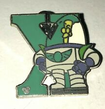 Disney  2011 Hidden Mickey Series Alphabet Letter Collection X for Xander Pin