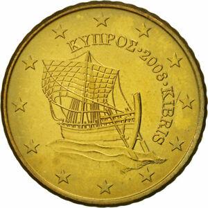 [#463452] Chypre, 50 Euro Cent, 2008, SUP, Laiton, KM:83