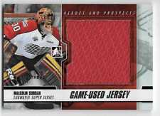 12/13 ITG HEROES & PROSPECTS 'MONTREAL' SILVER GAME JERSEY Malcolm Subban 1/1