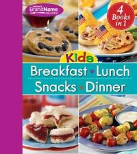 4 in 1 Recipe Book for Kids: Breakfast, Lunch, Snacks, and Dinner  Editors of Pu