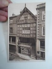 Vintage Postcard Chester, God's Providence House 4865 - Unposted §A803