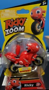 Ricky Zoom Ricky the Motorcycle Tomy Brand New in Package Free Standing Ages 3+