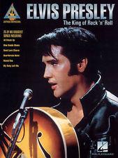 Elvis Presley King Of Rock N' Roll Guitar Recorded Versions Tab Book NEW!
