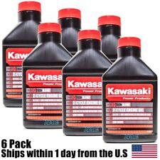 6PK Kawasaki 6.4oz 50:1 2.5 Gallon 2 Cycle Engine Oil K-TECH Blend 99969-6084