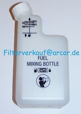 Mischflasche/Mixflasche für 2-Takt-Kraftstoff Mischung mit Skala Mischbehälter