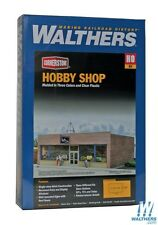 Walthers #931-3475  Cornerstone Hobby Shop,  building  Kit  HO SCALE FREE POST