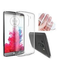 Funda de gel TPU carcasa protectora silicona para LG Optimus G3 Transparente